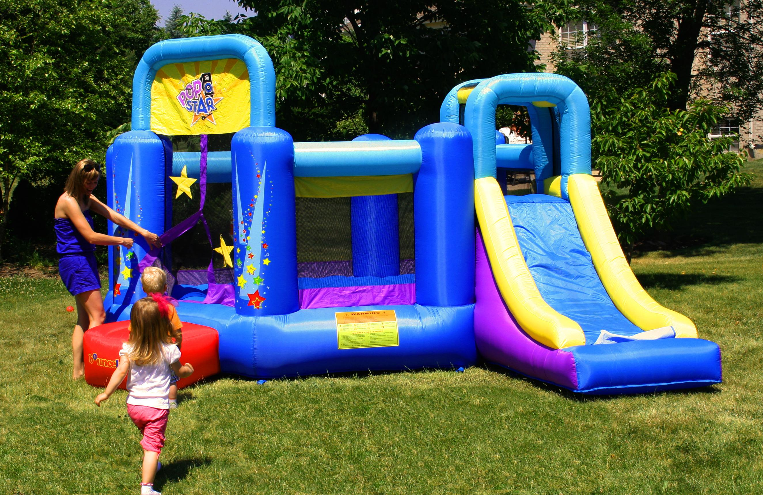 view larger - Inflatable Bounce House