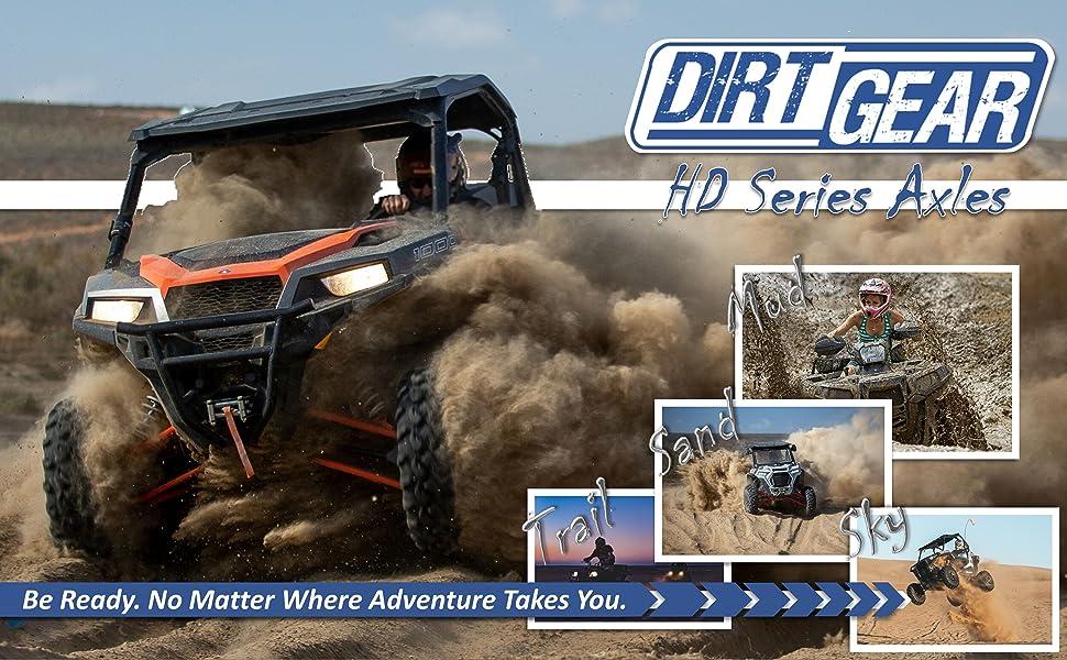 Dirt Gear HD Series Axles