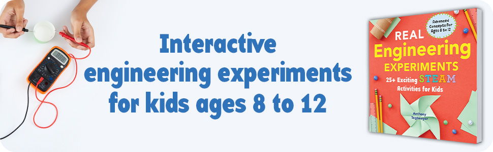 Engineering for kids, activity book for kids, engineering books, engineering
