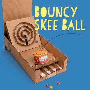 Bouncy Skee Ball