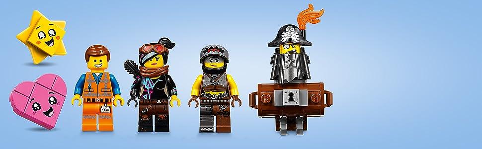 LEGO La LEGO Película 2 - Buggy de Huida de Emmet y Lucy