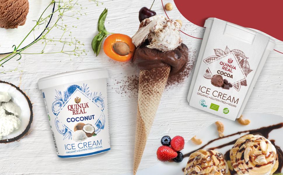 Helado de cacao y quinoa BIO Gluten Free - Quinua Real ...