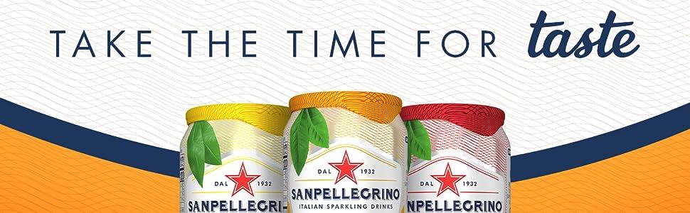 Sanpellegrino ISD Cans S.Pellegrino Italian Sparkling Drinks