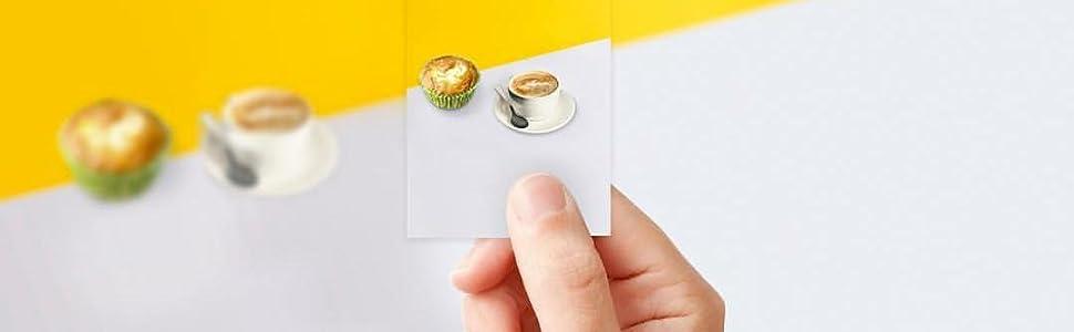 Polaroid Premium Zink Papel Fotografico (Paquete de 20 Hojas ...