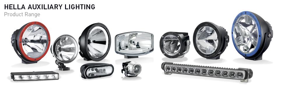 Nilight, hella, auxiliary, aux lights, atv lights, motorcycle lights, krator, round, cube, fog light