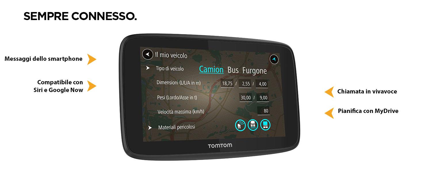 Via Furgone Dischi Adesivi di Montaggio su Cruscotto per Tutti i Navigatori TomTom Start Autobus GO TomTom GO Professional 620 Navigatore Satellitare per Camion