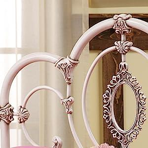 vanity stool, decorative, stool, bedroom furniture, beds, furniture, guest room furniture