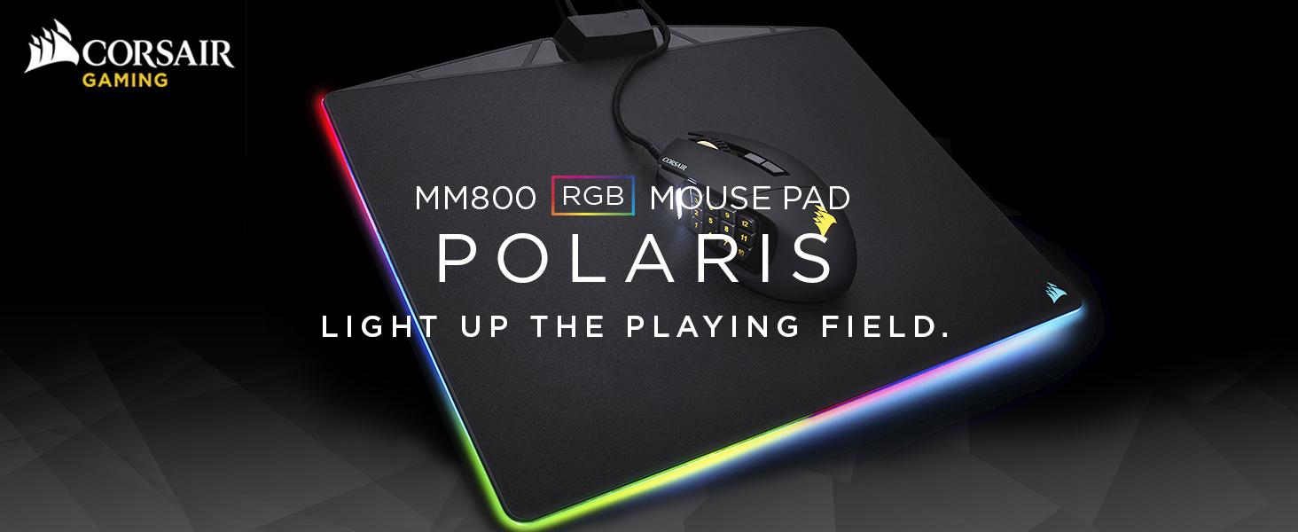 MM800 RGB POLARIS Gaming Mouse Pad