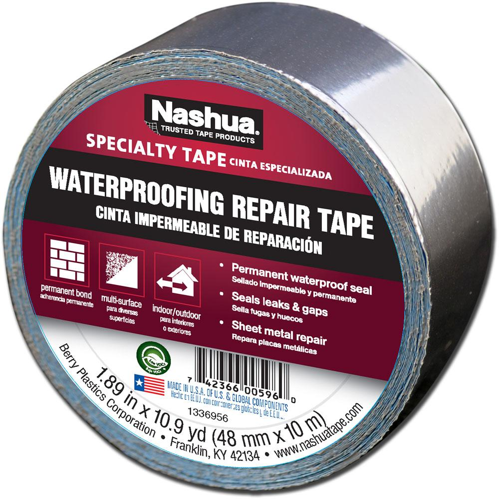 Nashua 361 11 Foil Tape For Waterproofing Repair 11 Mil