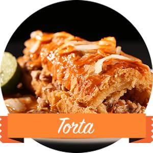 TORTA, CHILES, CHIPOTLE, LA MORENA