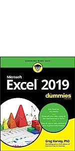 excel 2019, dummies