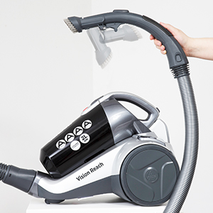 Hoover Vision Reach XL 800W 4L Cylinder Vacuum Cleaner With Pets Turbo Brush