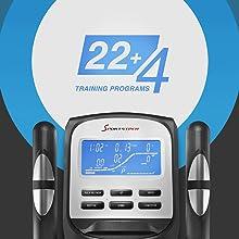 5 HRC Programs, programmes pré-installés votre workout préféré.