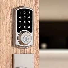 pair passage knobs and levers with electronic lock