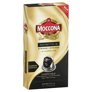 Moccona coffee, Moccona capsules, coffee machine