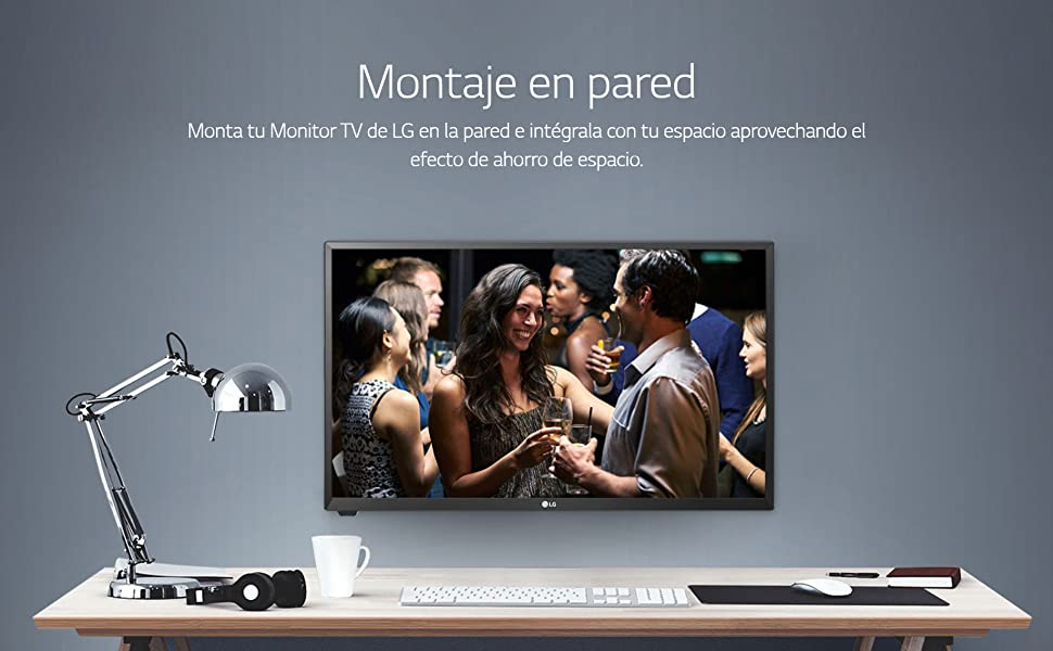 LG 24TL510V-WZ - Monitor TV de 61 cm (24