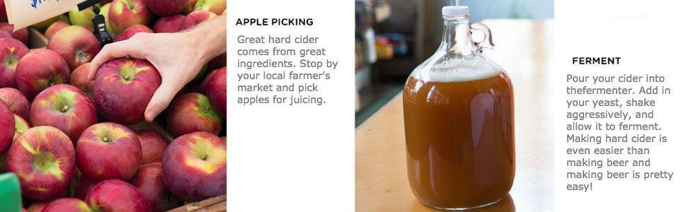 Amazon Com Brooklyn Brew Shop Hard Cider Making Kit