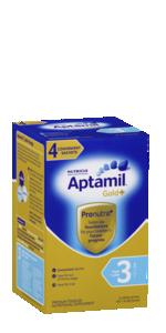 Aptamil Gold+ Stage 3 Toddler Milk Drink Multipack Sachets 4 Pack