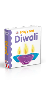 "Book cover for DK's ""Baby's First Diwali"""