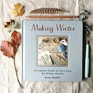 making winter crafts scandinavian hygge craft book baking jewellery autumn nature countryside