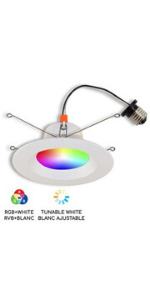 "6"" Smart WiFi RGB+White LED Conversion Kit"