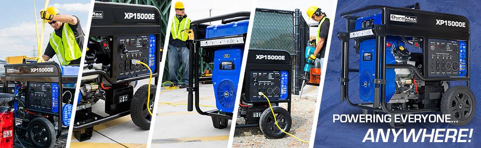 Duromax XP15000E 150000 Watt Home backup Portable Generator