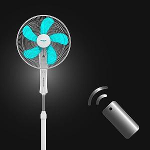 ventilador de pie; ventilador silencioso; ventilador de pie con mando a distancia; ventiladores