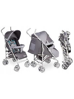 Lionelo Elia Kinder Buggy Kinderwagen Kindersportwagen Reise Babywagen 7kg Blau