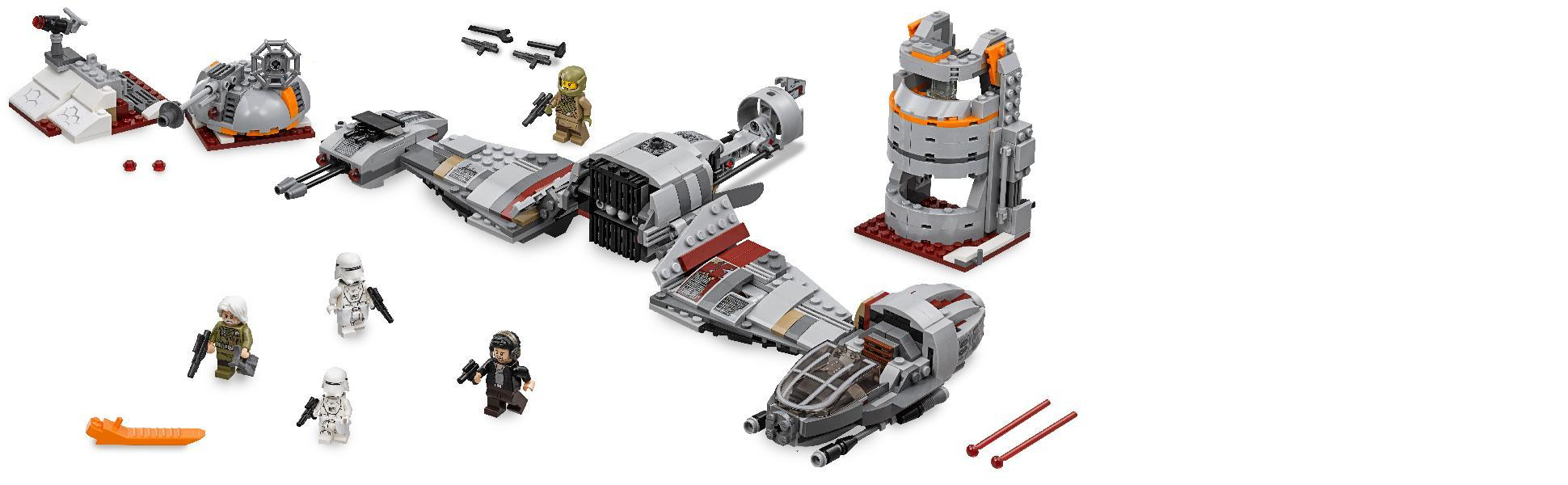 Lego star wars defense on crait 75202 lego - Lego star wars 1 2 3 4 5 6 ...