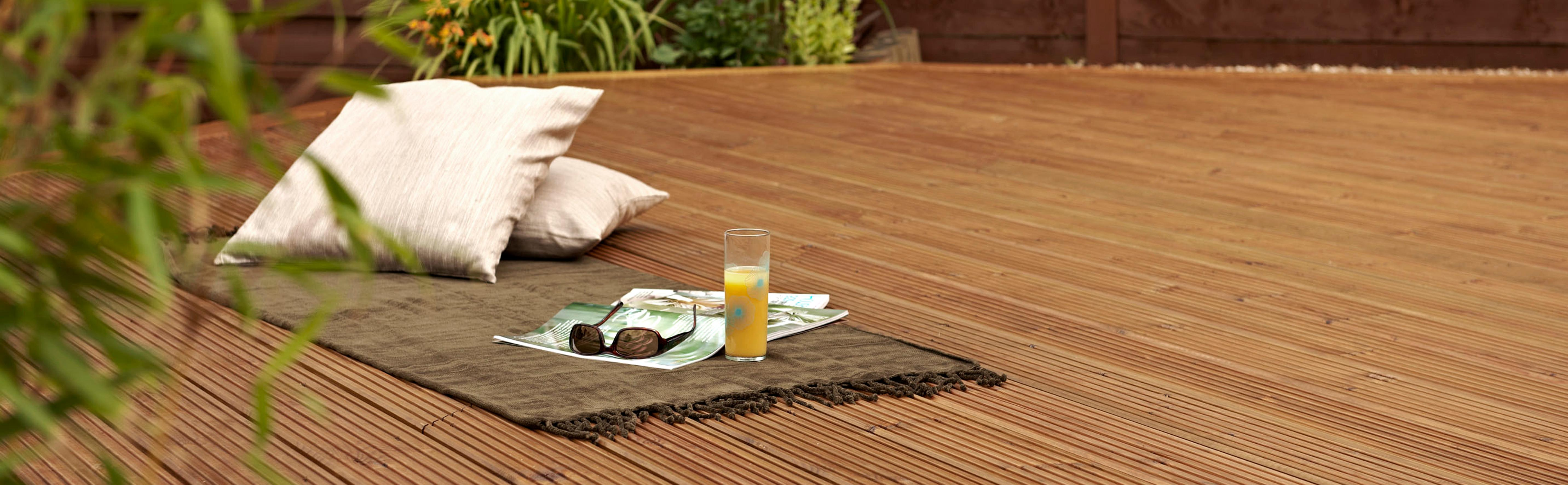 Metsawood 28 x 144 mm x 2 4 m softwood decking boards for 6 metre decking boards