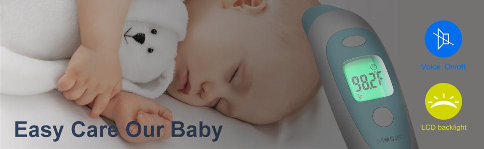 Amazon.com: Mosen - Termómetro para bebé, termómetro para ...