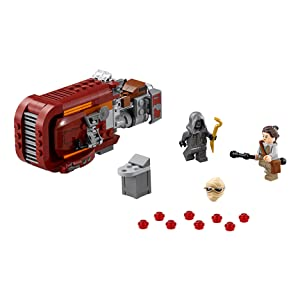 LEGO Rey's Speeder Features and Functions