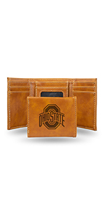 NCAA Rico Industries Laser Engraved Trifold Wallet Colorado Buffaloes