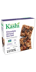 Kashi Chewy Chocolate Almond Sea Salt Granola Bars