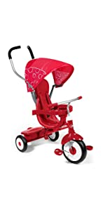 Amazon Com Radio Flyer 4 In 1 Trike Toys Amp Games