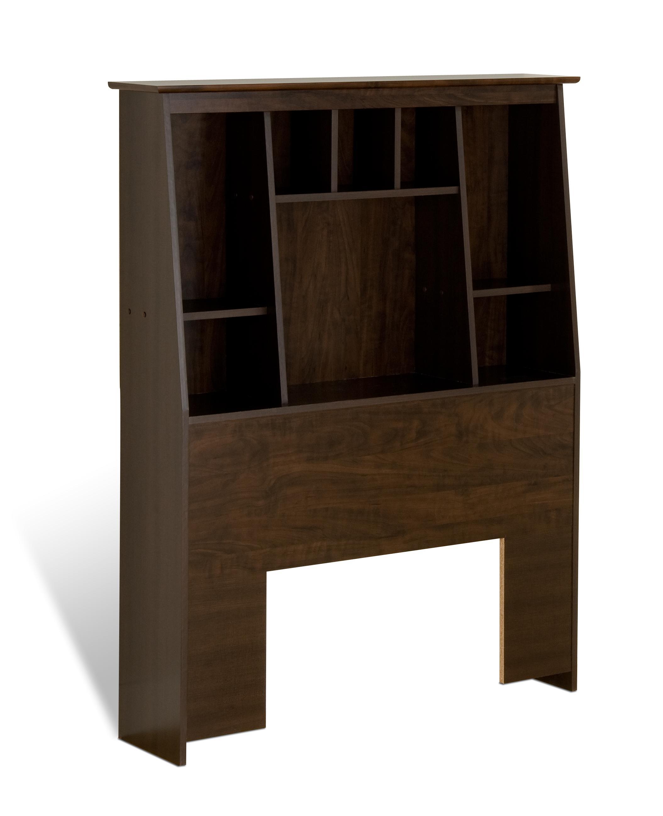 view amazon tall prepac bookcase dp twin larger cherry slant com back headboard