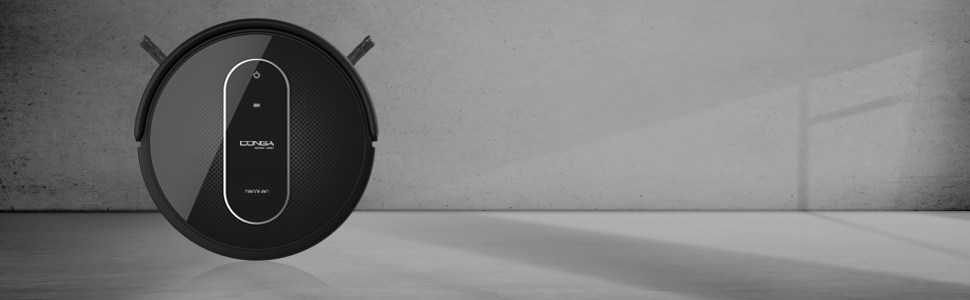 Cecotec Conga Serie 1290 Robot Aspirador 4 En 1, Navegación Inteligente Y Ordenada Itech Gyro, 7 Modos De Limpieza Con Muro Magnético, 3 Niveles De Fregado, Gran Potencia De Succión, Plástico, Negro: Amazon.es: Hogar