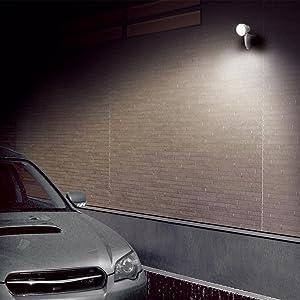 高儀 アースマン センサーライト led センサー ライト 人感センサー 防雨 エコ 省エネ ガーデン 屋外 室内