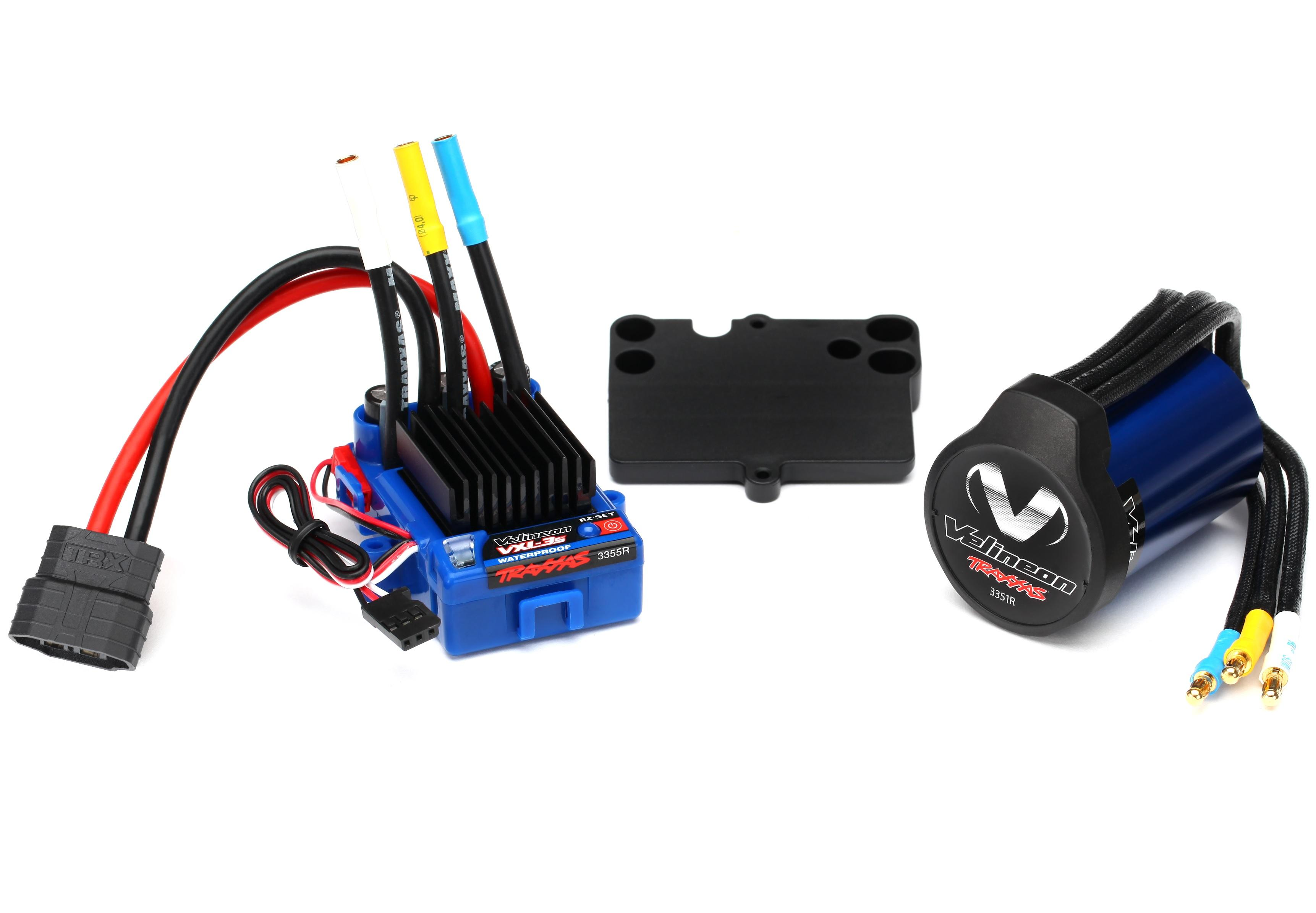 Traxxas 3350R Velineon VXL 3s Brushless Power System