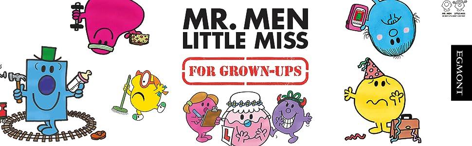 NEW MR MEN for grown ups LITTLE MISS SHY ONLINE DATING HARDBACK secret santa