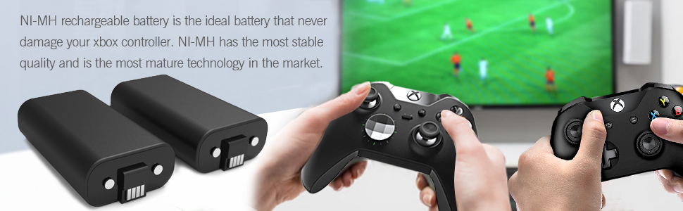 Amazon.com: Xbox One Controller Battery Pack, YCCSKY 2