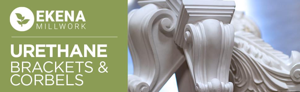 urethane corbels, brackets, interior brackets, exterior brackets, exterior corbel, decorative corbel