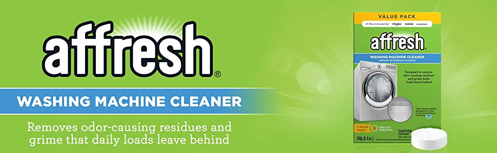 Amazon Com Affresh Washer Machine Cleaner 6 Tablets 8 4