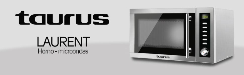 Taurus - Microondas Taurus Laurent-Microondas (900 W, 25 litros ...
