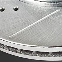 slotted rotors, slotted brake disc, slotted and drilled rotors