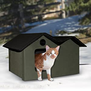 Ferral;warm;cozy;bed;pad;cat;kitty;cold;thermo;thermal;pet;cave;comfort;MET;UL;shelter;outside;winte