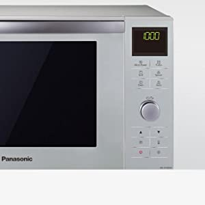 Panasonic NN-DF385 - Microondas Horno con Grill Combinado (1000 W, 23 L, 6 niveles, Inverter, Grill 1000 W, 100-220ºC, 16 modos, recubrimiento ...