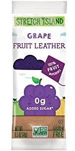 grape fruit leather