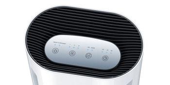 Luftreiniger LR 200 Display saubere Luft