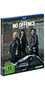 No Offence Blu-ray